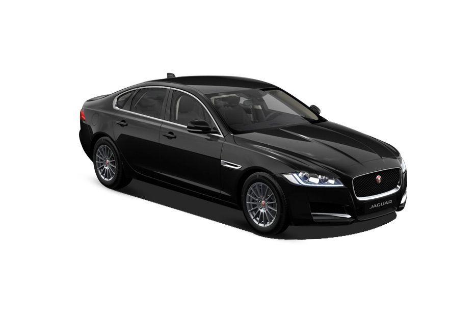 Jaguar XFSantorini Black Color
