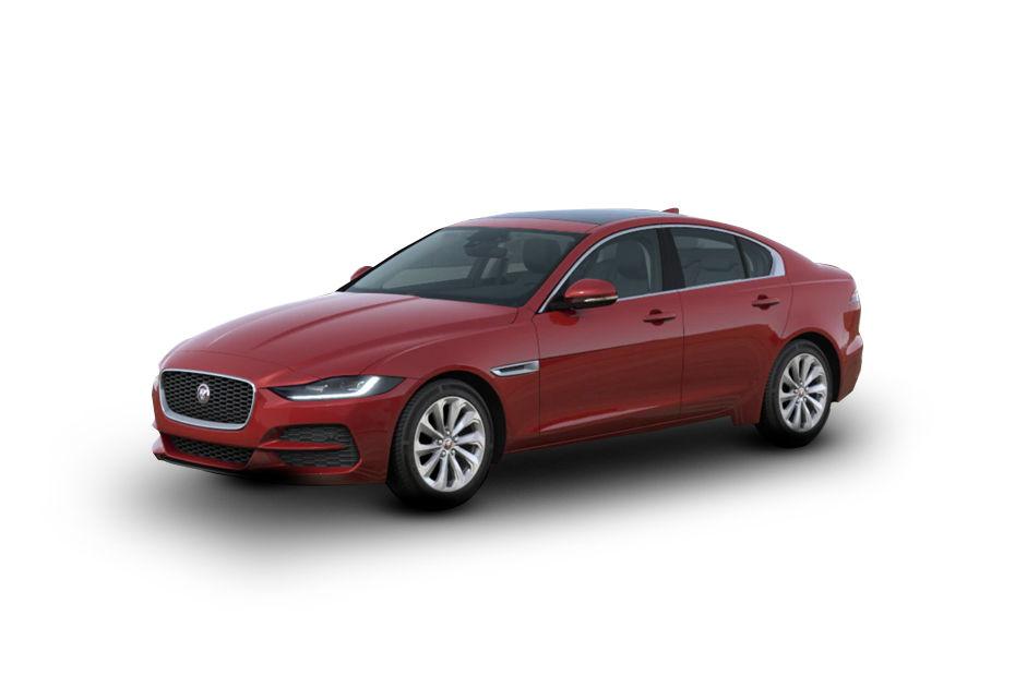 Jaguar XEFirenze Red Color