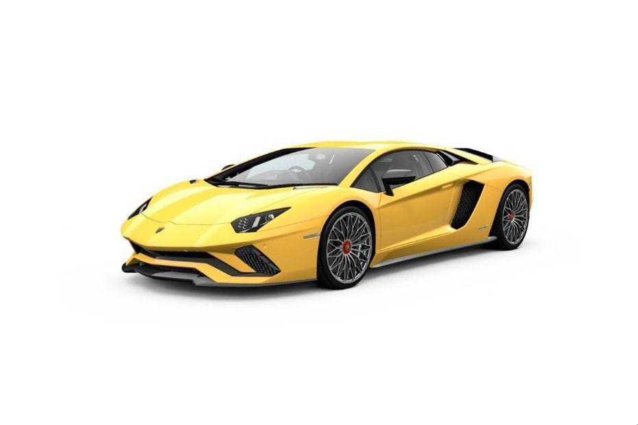 Lamborghini AventadorGiallo Spica Color