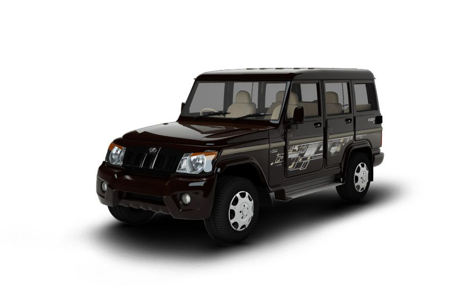 Mahindra BoleroLake Side Brown Color