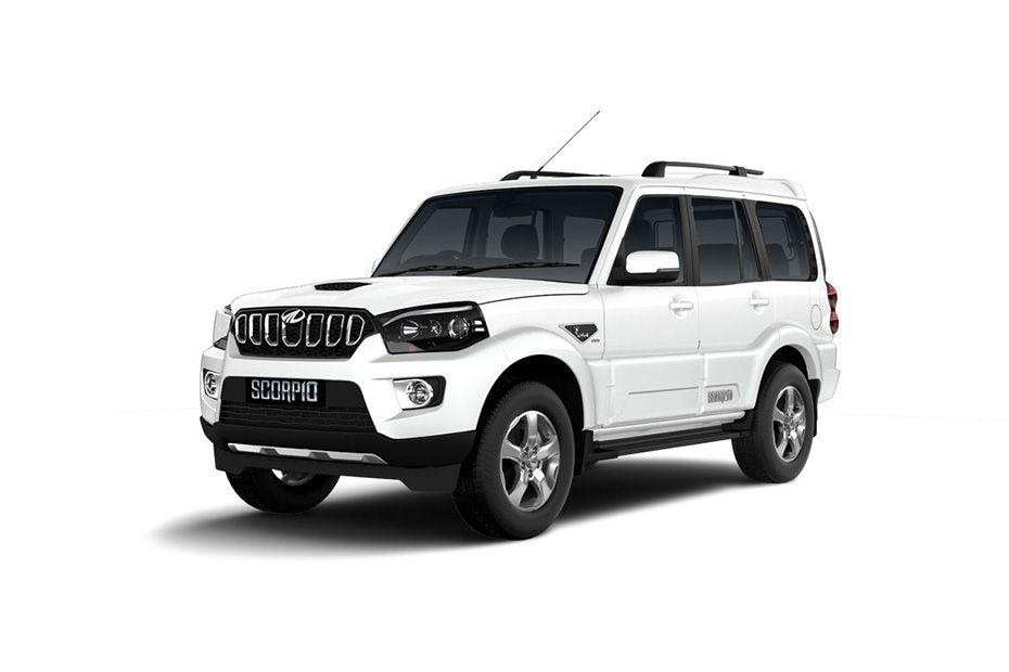 Mahindra ScorpioPearl White Color