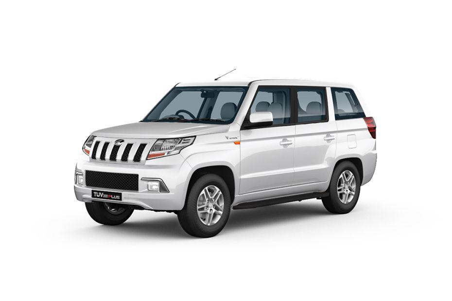 Mahindra TUV 300 PlusGlacier White Color