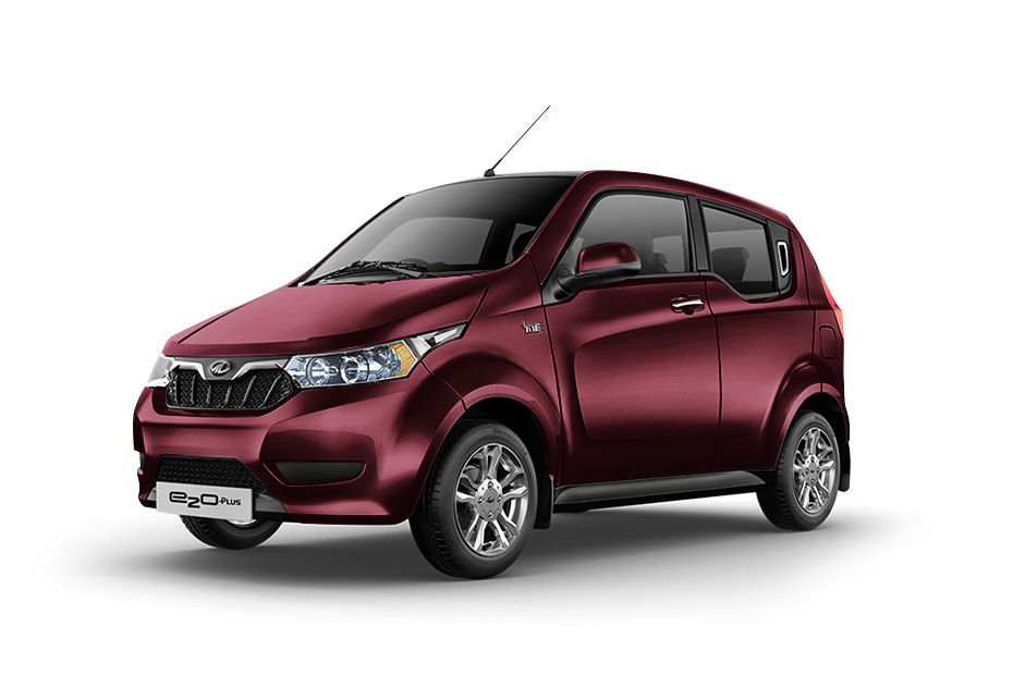 Mahindra e2oPlusWine Red Color