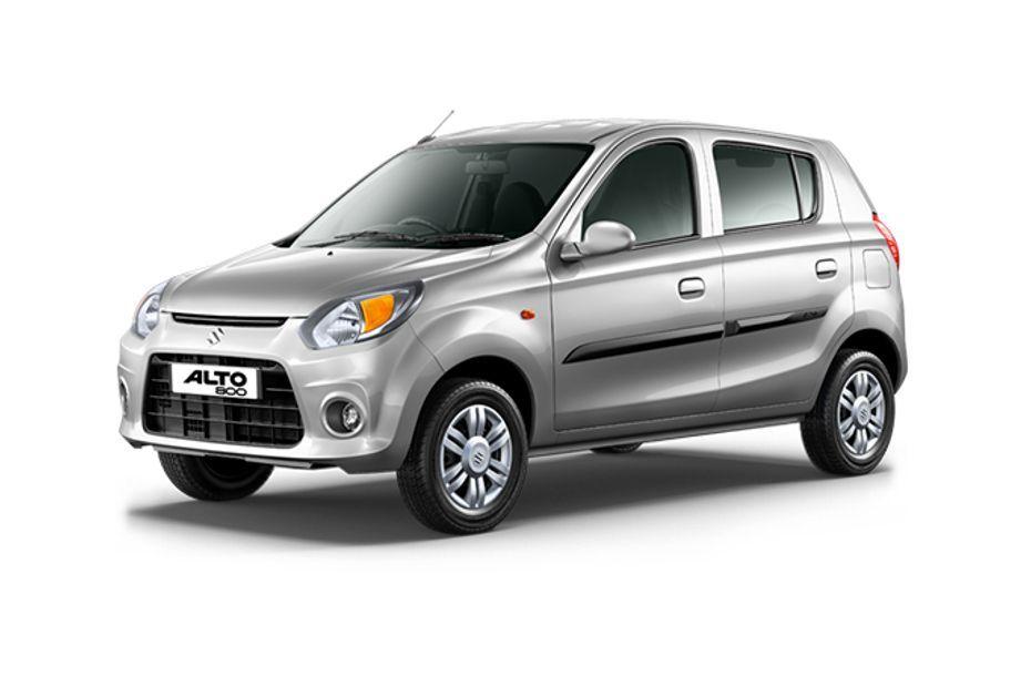 Maruti Alto 800Silky silver Color