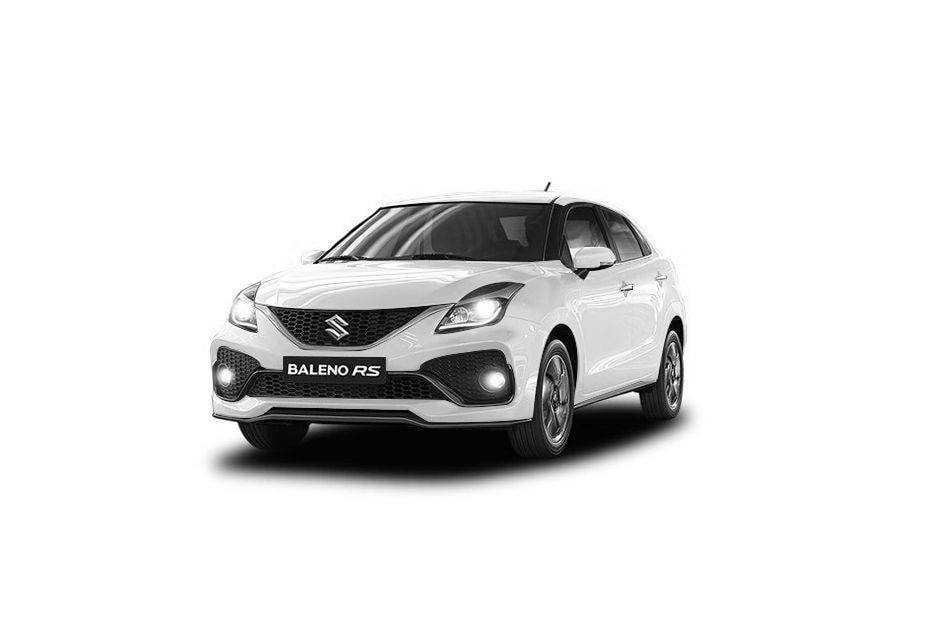 Maruti Baleno RSArtic White Color