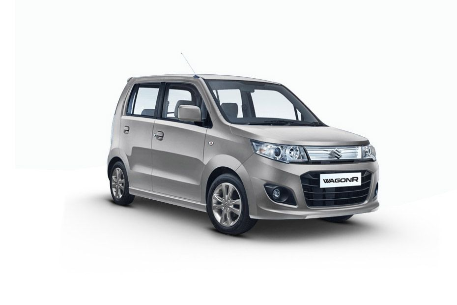 Maruti Wagon RSilky silver Color