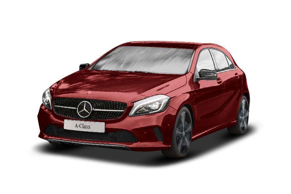 Mercedes-Benz A-ClassJupiter Red Color