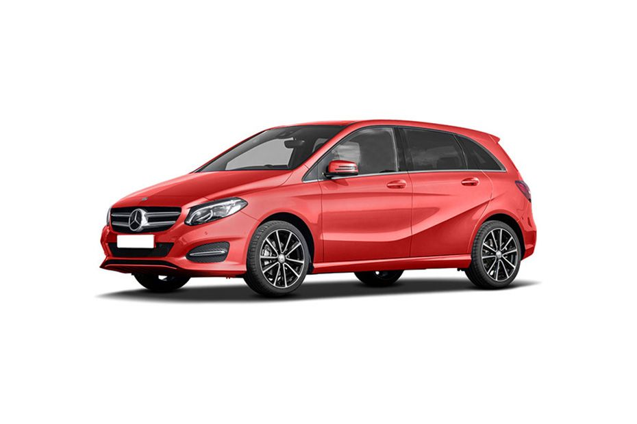 Mercedes-Benz B-ClassJupiter Red Color