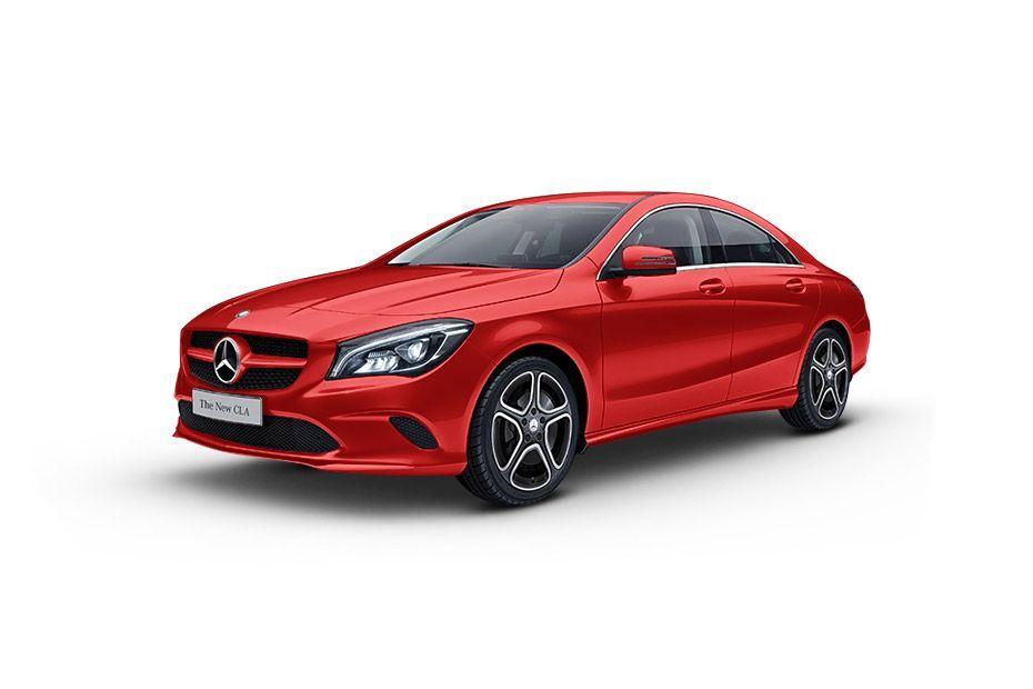 Mercedes-Benz CLAJupiter Red Color