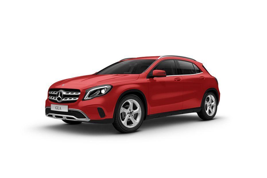 Mercedes-Benz GLA ClassJupiter Red Color