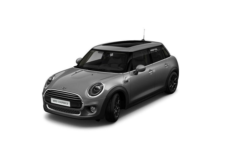 Mini Cooper 5 DOORMoonwalk Grey Color