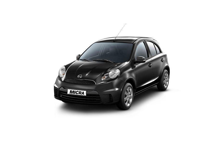 Nissan Micra ActiveOnyx Black Color