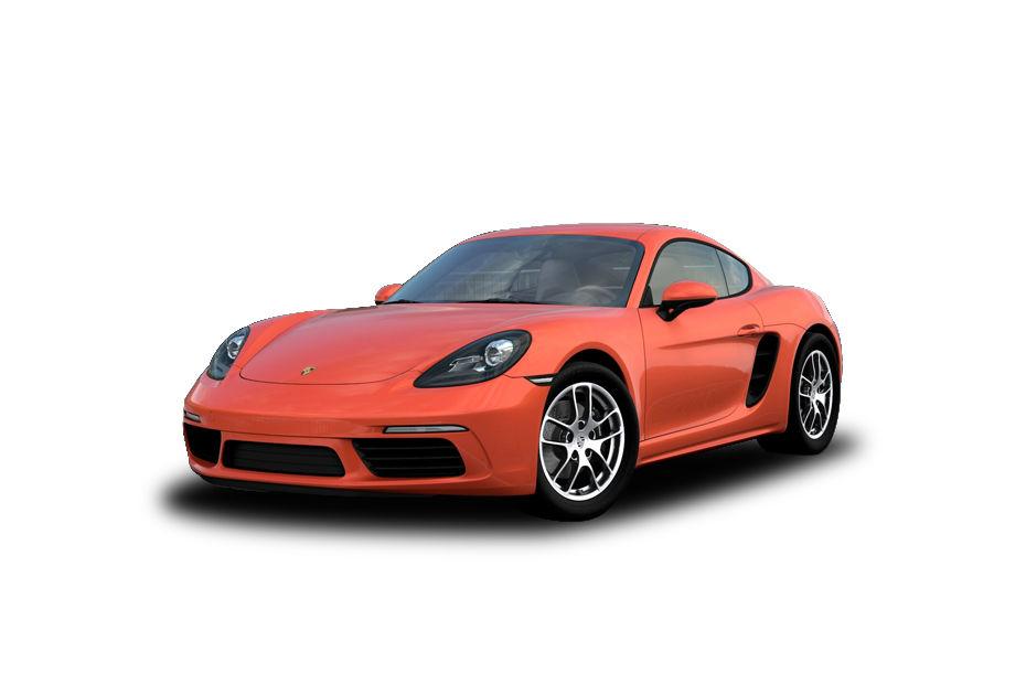 Porsche 718Scarlet Red Color