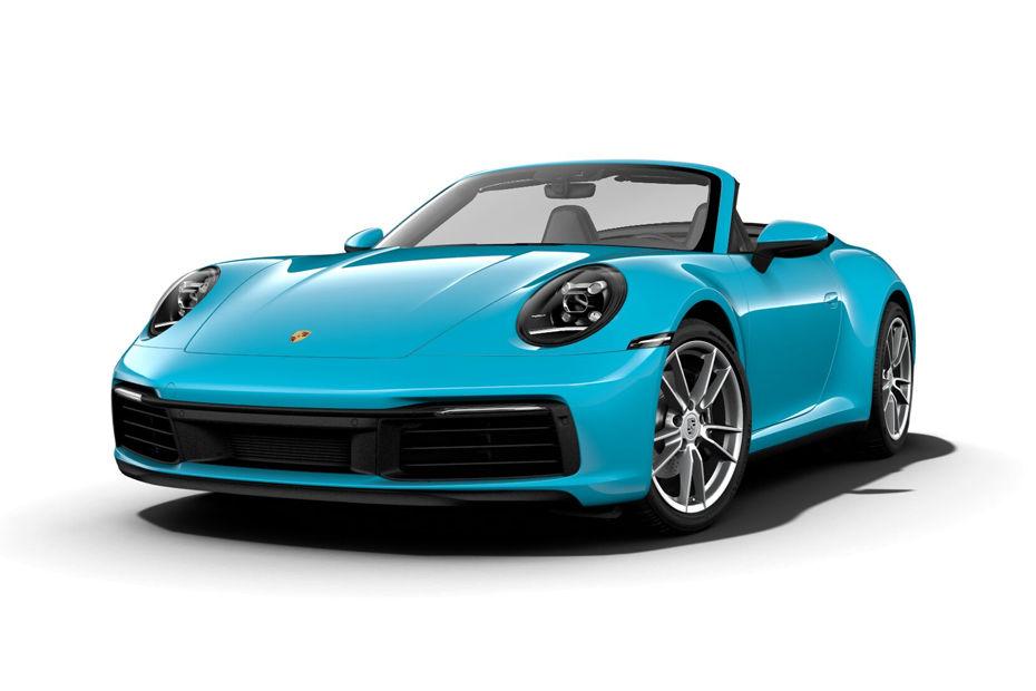 Porsche 911Sky Blue Color