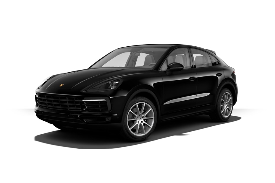 Porsche Cayenne CoupeJet Black Metallic Color