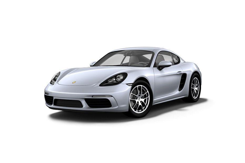 Porsche 718Rhodium Silver Metallic Color