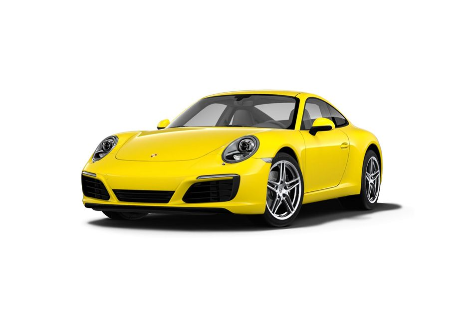 Porsche 911Racing Yellow Color
