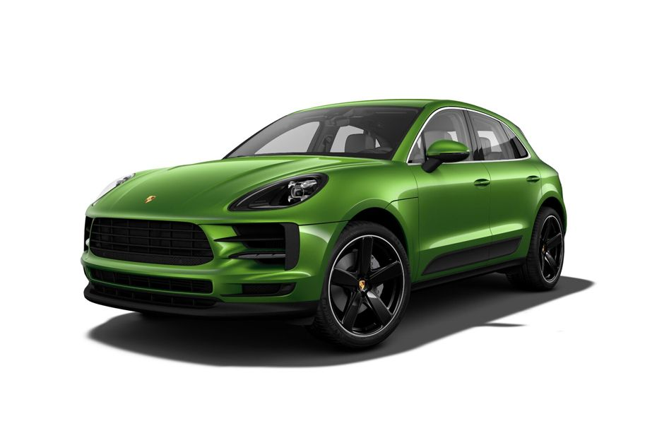 Porsche MacanMamba Green Metallic Color