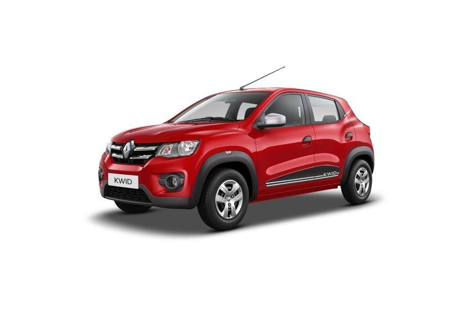 Renault KWIDFiery Red Color