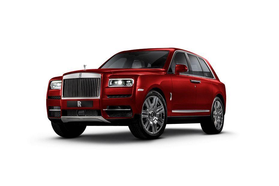 Rolls-Royce CullinanRed Color
