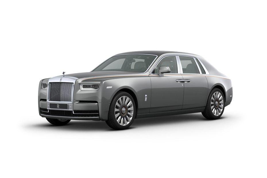 Rolls Royce PhantomJubilee Silver Color
