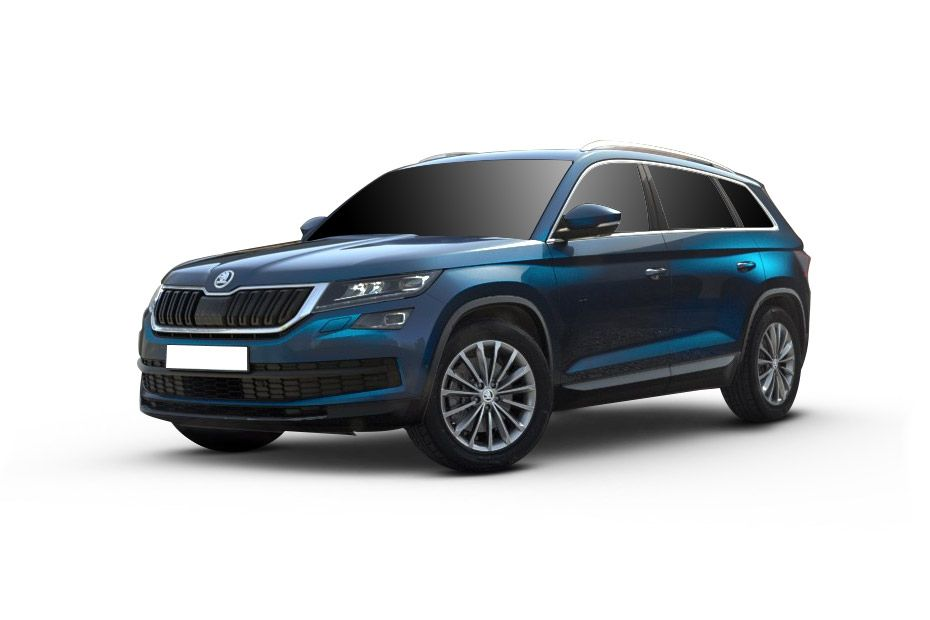 Skoda KodiaqLava Blue Color