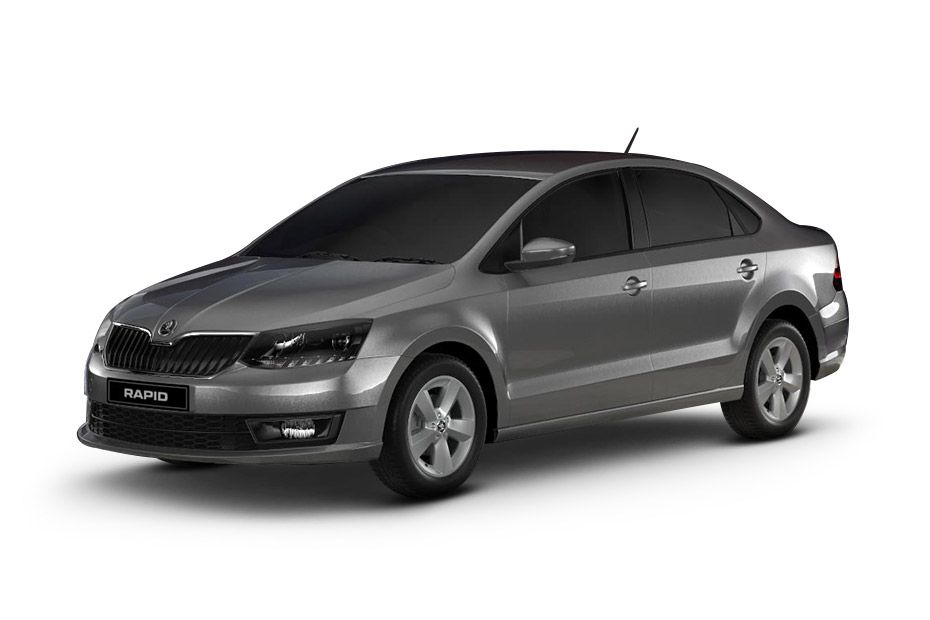 Skoda RapidBrilliant Silver Color