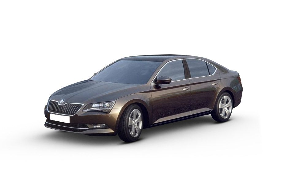 Skoda SuperbMagnetic Brown Color