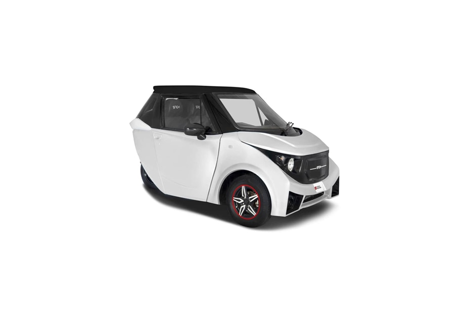 White With Black Roof