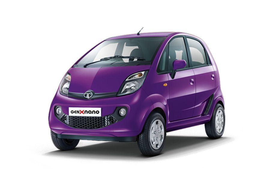 Tata NanoDamson Purple Color