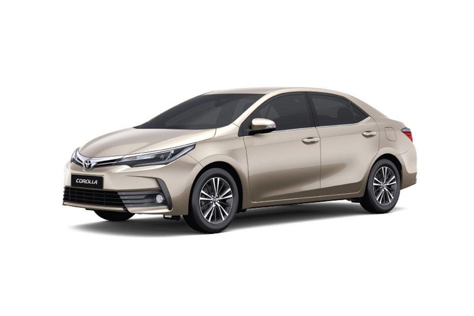 Toyota Corolla AltisChampagne Mica Metallic Color