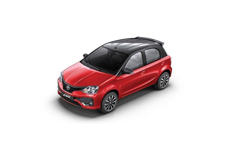 Toyota Etios LivaVermilion Red Color