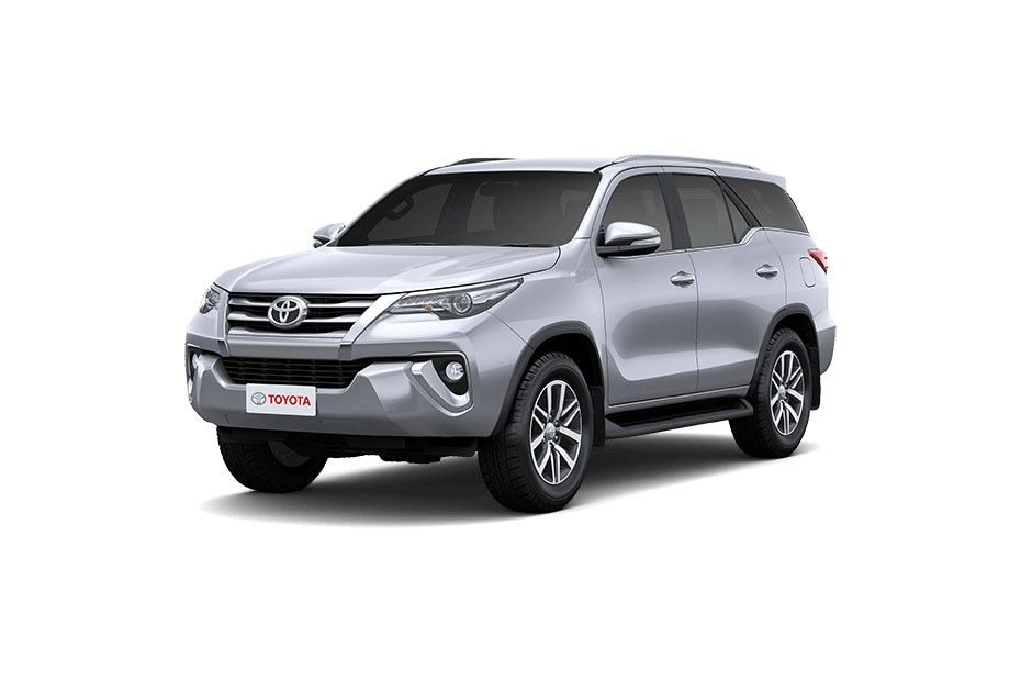 New Toyota Fortuner 2019 Colours - Fortuner Color Images
