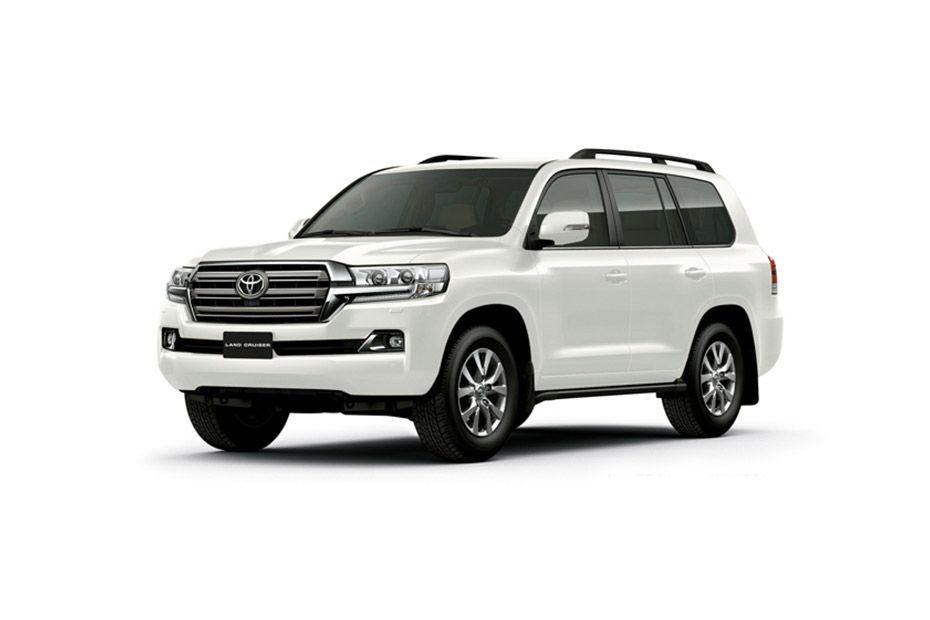 Toyota Land CruiserWhite Pearl Color