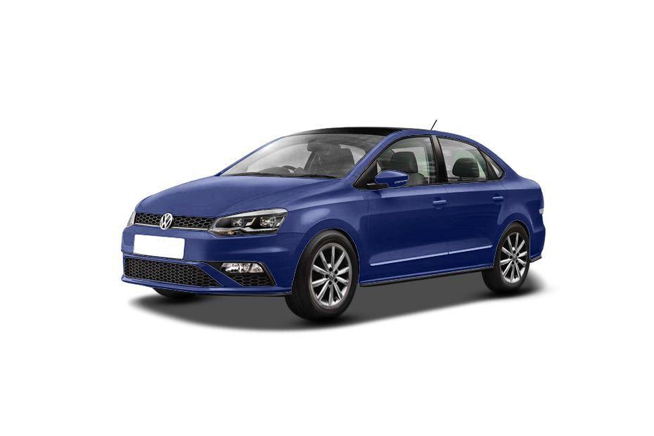 Volkswagen VentoLapiz Blue Color