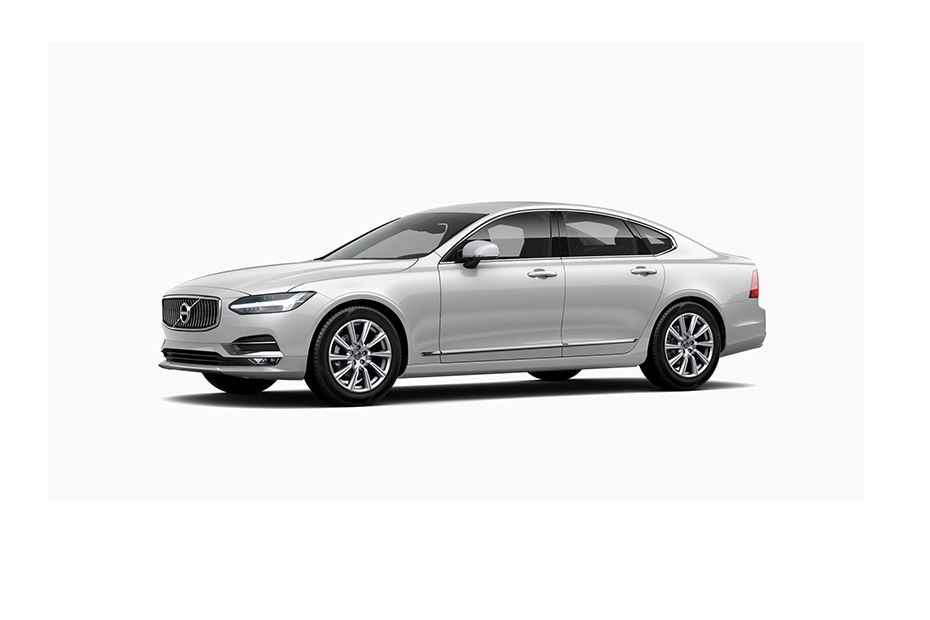 Volvo S90Crystal White Pearl Metallic Color