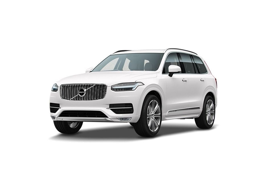Volvo XC90Ice White Metallic Color