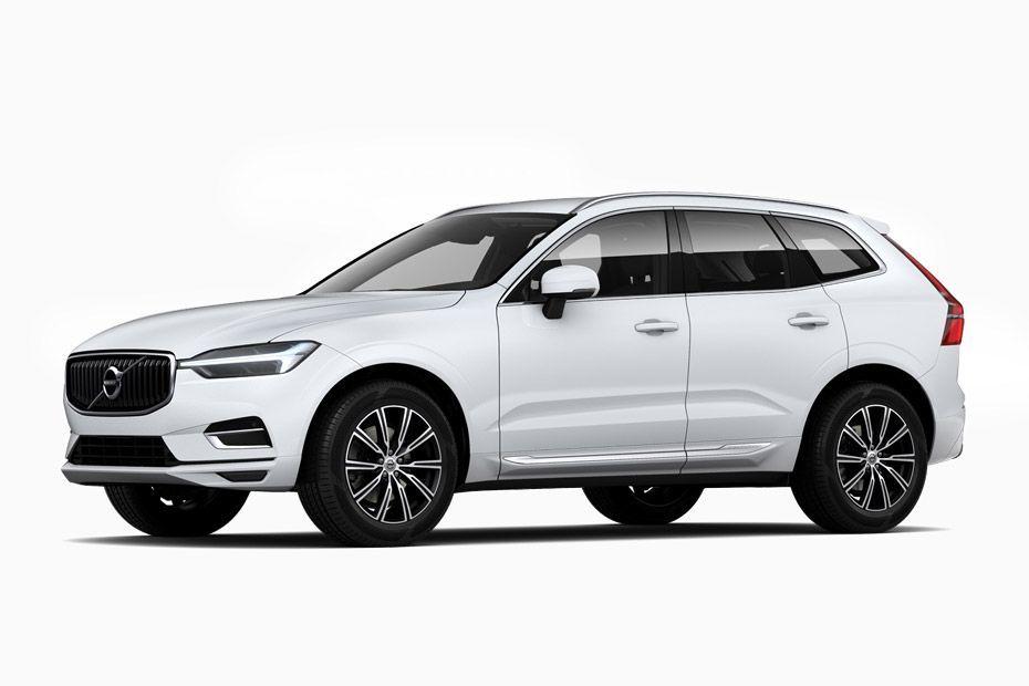 Volvo XC60Crystal White Pearl Metallic Color