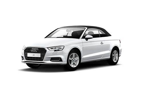 Audi A3 cabriolet Glacier White Color