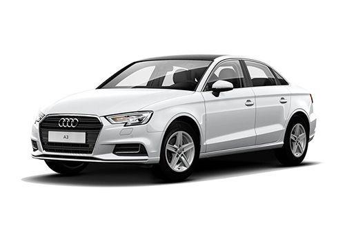 Audi A3 Glacier white Metallic Color