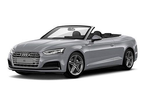 Audi A5Silky silver Color