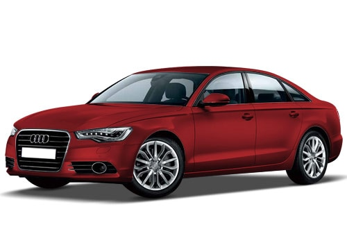Audi A6 2009-2011 Garnet Red Color
