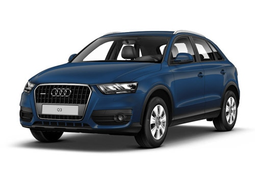 Audi Q3 2012-2015 Cobalt Blue Metallic Color