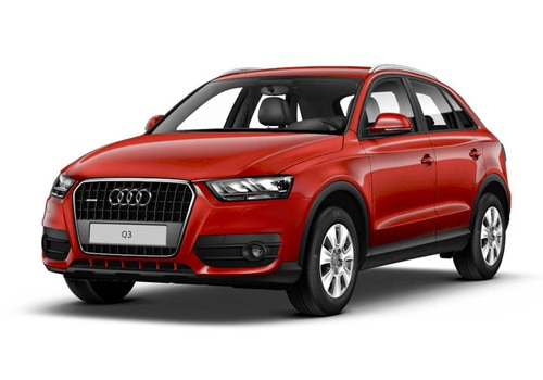 Audi Q3 2012-2015 Misano Red Color