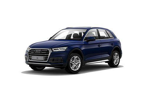 Audi Q5 Navvara Blue Metallic Color