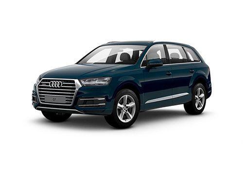 Audi Q7 Galaxy-Blue-Metallic Color