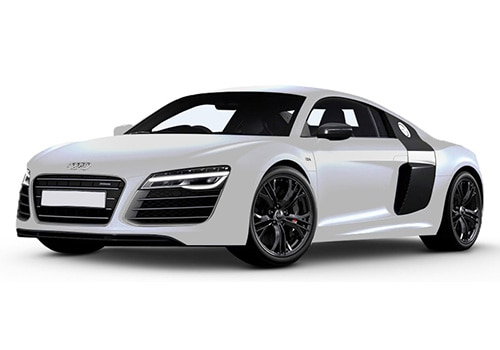 Audi R8 Ice Silver Metallic Color