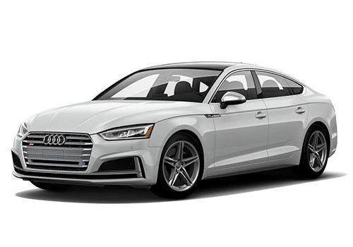 Audi S5Glacier white Metallic Color