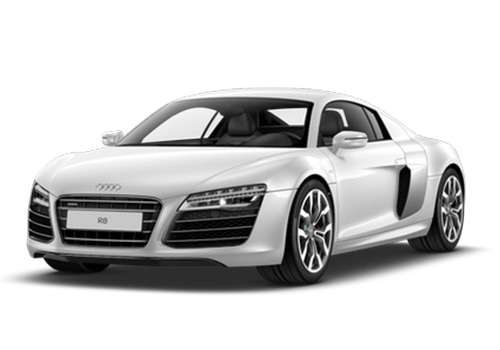 Audi R8 2006-2012 Ibis White Color