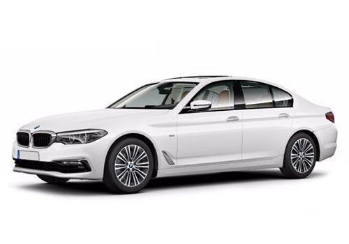 BMW 5 SeriesAlpine White Color